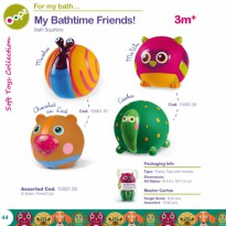 Oops My Bath Friends! Bath Squirters (6M ) - Chocolat au Lait & Mushee