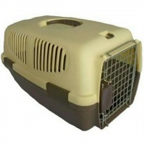 (LIMITED) Pet Cargo 083 Large Coffe