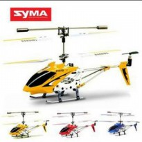(READY) MURAH - SYMA S107G mini helicopter ready to fly.