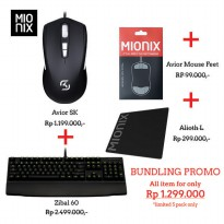 (Pop UP Market) Promo Bundling Mionix SK