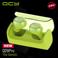 (POP UP)  QCY Sport Bluetooth Earphone Q29 Pro Green