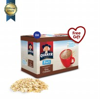 Quaker 3 In 1 Chocolate Box 12s - 2 Pcs [GWP]