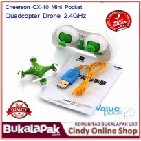 (LIMITED) Cheerson CX-10 Mini Pocket Quadcopter Drone 2.4GHz