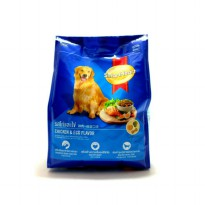 Smartheart chicken & egg flavor 500gr makanan anjing dewasa dog food