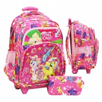 (LIMITED) Tas Trolley SD Import My Little Pony Lis Emas 6D Timbul 4