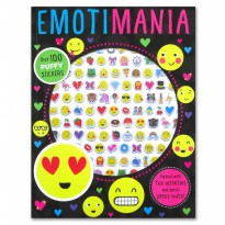 Terlaris Buku Edukasi Anak Puffy Sticker Activity Book : Emotimania Over 100 Stickers