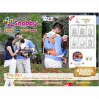 (READY) Gendongan Hipseat 6 Posisi Snobby TPG1743 Animal Series