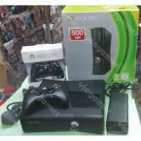 Xbox360 Slim HDD 500GB + 2 Stik Wireless + HDMI + Kinect