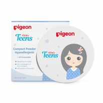 (POP UP AIA) PIGEON Compact Powder Hypo 14Gr - Pink