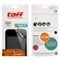 Taff Invisible Shield Screen Protector for Samsung Champ Duos (GT-E2652W) - Clear UltraThin (Japan M