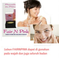 SABUN FAIR n PINK / BRIGHTENING BLACK SOAP ORI POM RESMI