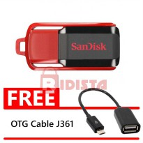 SanDisk Flashdisk Cruzer Switch CZ52 - 16GB FREE OTG Cable J361