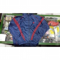 jaket lari parasit + head cover