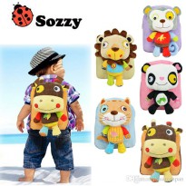 Sozzy kids backpack animal - Tas Anak