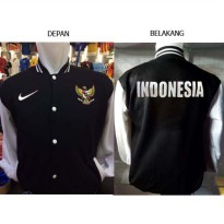 Varsity jacket Indonesian Team Baseball ID-849P Kombinasi Indonesia Juara