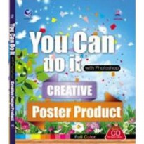 You Can Do It With Photoshop-Creative Poster Product