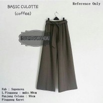 Basic Culotte Coffee