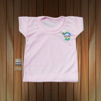 Kaos Oblong salur bayi Unisex 12 - 18 bulan isi 6 pcs - Jfashion cuddle XL