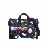 Tas Wanita Import Original Lesportsac Classic Mini - Black