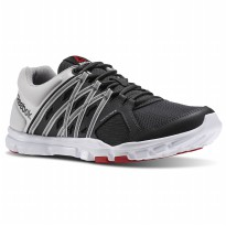 Sepatu running lari gym reebok yourflex train 8.0 hitam original murah 5061b3ef35