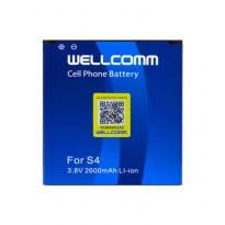 Wellcomm Battery Double IC Untuk Samsung Galaxy S4