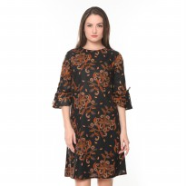 Agrapana Aradhana Dress Batik Print