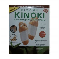 (PO0315) Kinoki Koyo Kaki Herbal Detox Foot Patch Putih 1 Kotak