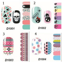 HO5119-1 - Nail Sticker Kuku Decals Fashion