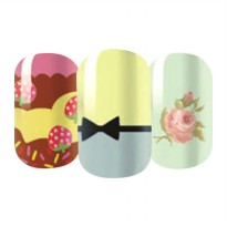 HO5119-18 - Nail Sticker Kuku Decals Fashion