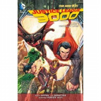 (PROMO) Justice League 3000 TP Vol 01 Yesterday Lives (N52)