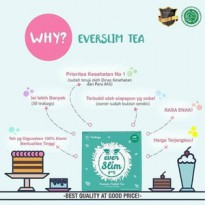 EVER SLIM TEA EVERWHITE - Everslim Tea / Ever White / Ever Slim Tea