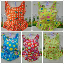 swim suit little girl (baju renang bayi)