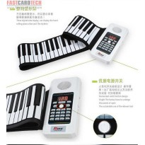 Bora Portable Flexible Electronic MIDI Roll-Up roll up Piano Keyboard