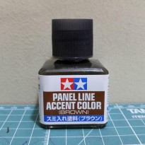 (PROMO) PANEL LINE ACCENT COLOR BROWN TAMIYA