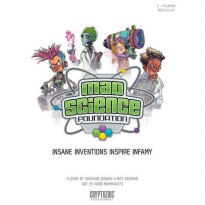 Mad Science Foundation Board Game