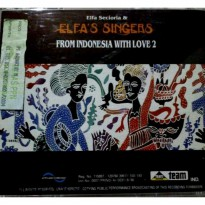 (READY) CD ELFA SECIORA & ELFA'S SINGER FROM INDONESIA WITH LOVE 2