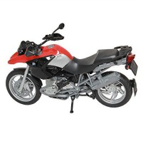 DieCast BMW R 1200 GS Skala 1:12 Motorcycle Red Color