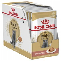 Royal Canin Adult British Shorthair Pouch 12x85gr