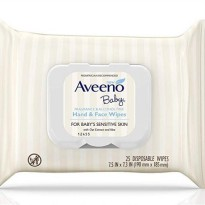 Aveeno Baby Hand and Face 25 Wipes