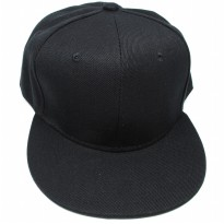 Topi Snapback Sport Fashion - Black