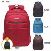 [BACKPACK] LUMINOX TAS RANSEL LAPTOP UP TO 15 INCH ANTI AIR 5912 - FREE BAG COVER