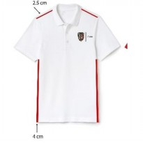 [Ambil di Toko] White Polo Stripe Side Exclusive Elevenia