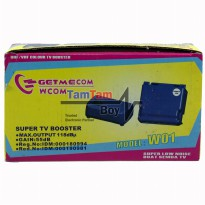 Penguat Sinyal TV / Booster Outdoor Antena TV Getmecom W01 Gain 55dB