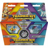 (DISKON) Pokemon Pikachu Libre and Suicune Trainer Kit 2-Player Learn
