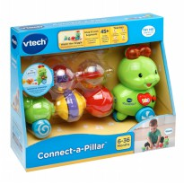 VTech Connect a Pillar Caterpillar