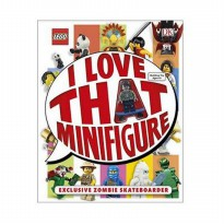 (LIMITED) Lego Book: I Love That Minifigure (include Zombie