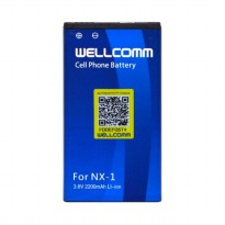 Wellcomm Battery Double IC NX-1 Untuk BB Q10
