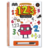 Terlaris Buku Edukasi Anak Help With Homework 3+ : 123 (Wipe-Clean Activities To Prepare