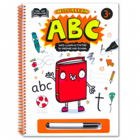 Terlaris Buku Edukasi Anak Help With Homework 3+ : ABC (Wipe-Clean Activities To Prepare