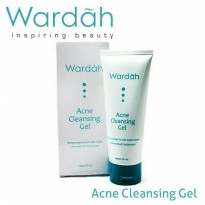Wardah Acne Cleansing Gel 60 ml - 2pcs